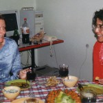 Även utbyte av kulinariska upplevelser ingår i ett CIF-program!Här njuter jag av turkiska läckerheter tillsammans med Nese.